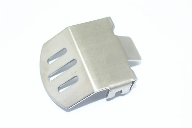 stnl-steel F/R GEAR BOX BOTTOM PROTECTOR MOUNT TRX4 -1PC