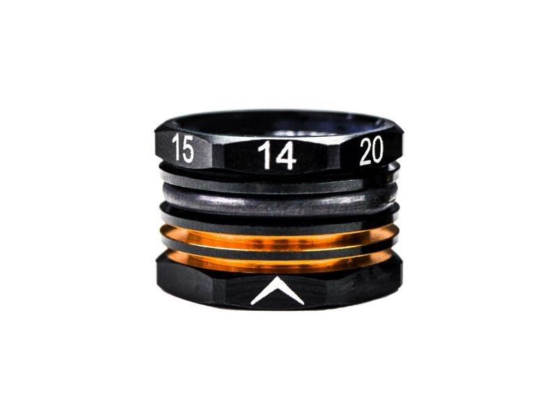 14-20mm Adjustable Ride Height Gauge Black Golden