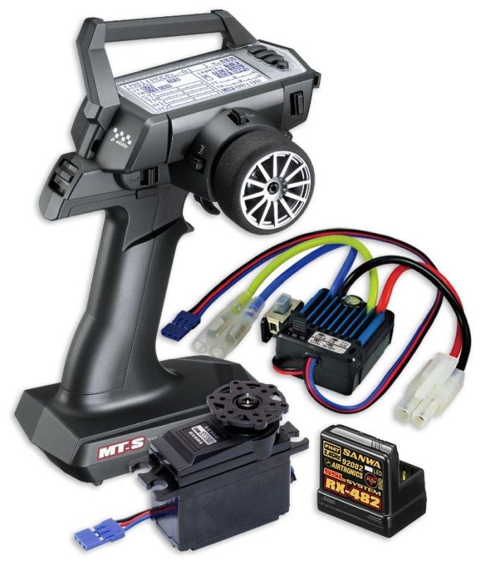 SLVR MT-S Combo TX/RX-482 + BL-SIGMA-Regler & SRM-102Z Servo