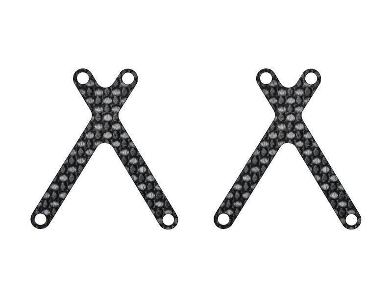 Wishbone insert carbon (2) X20 (SER401831)