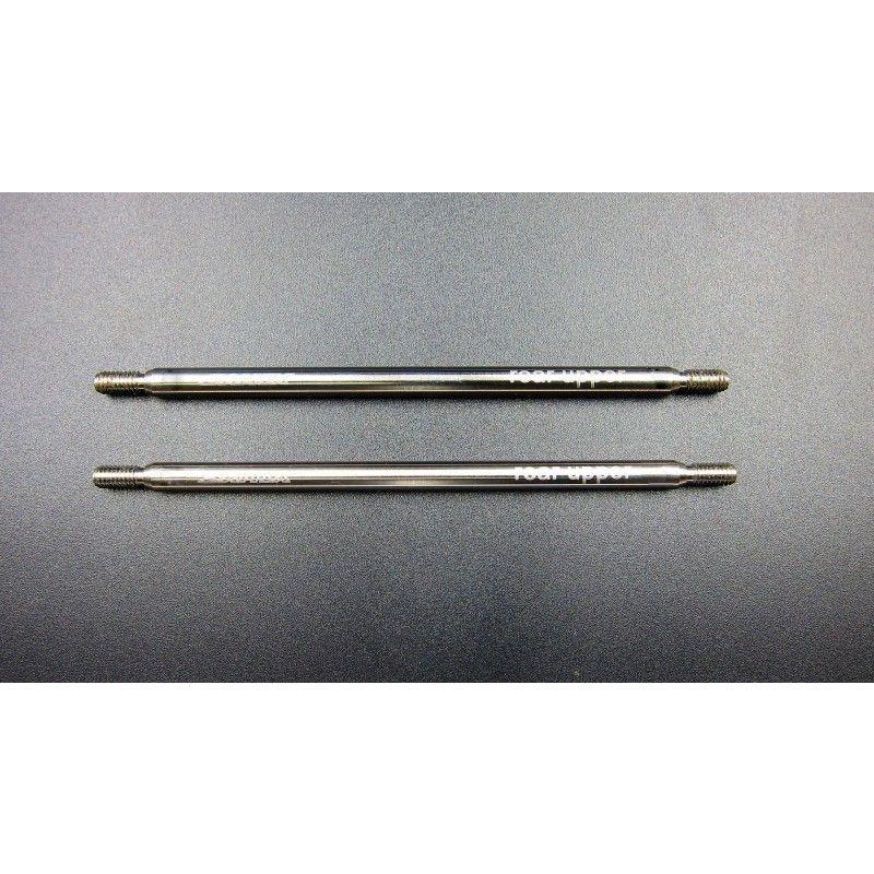 SAMIX SCX10 titianium rear upper link set