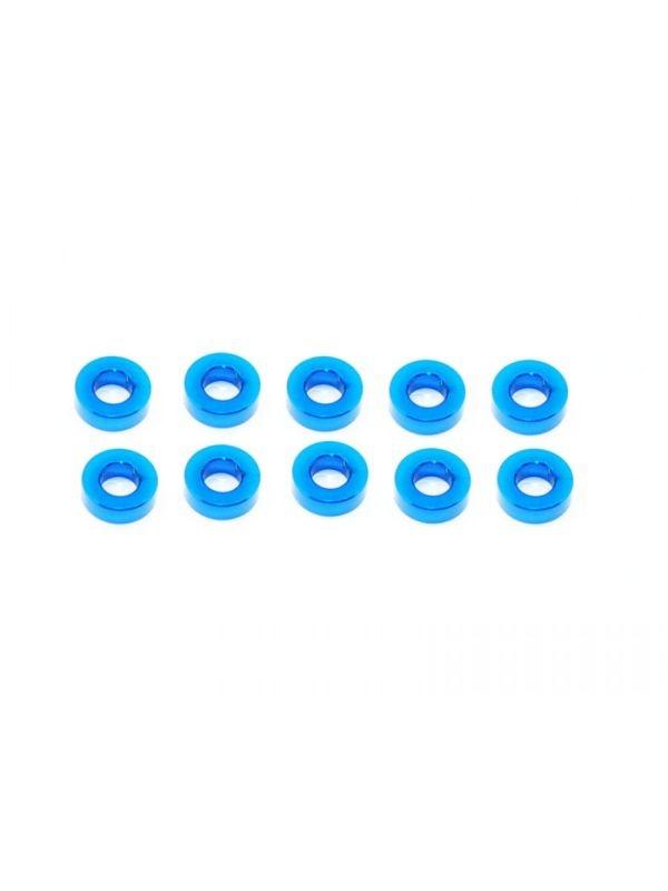 Alu Shims 3X6X2-Blue (10)