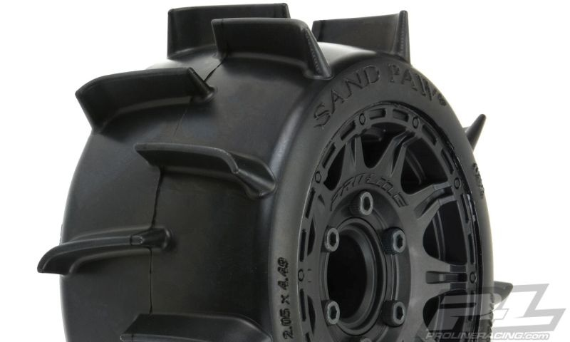 Pro-Line Sand Paw LP 2.8 Sand-Reifen Truck v/h (2)