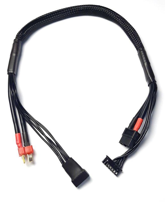 Ladekabel (2-)4S mit Balancer Verlängerung  T-Stecker