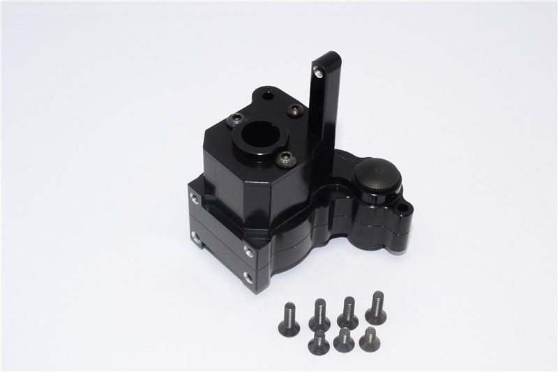 ALLOY CENTER TRANSMISSION CASE  - 3PCS SET black