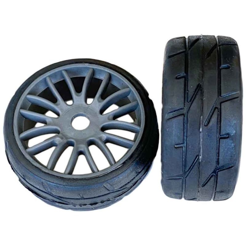 PMT GT Komplettrad RALLY18 Medium Q5 (1 Paar) gr