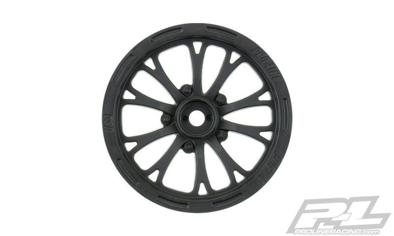 ProLine Pomona Drag Spec 2.2 schwarz 2WD Vorder-Felge (2)