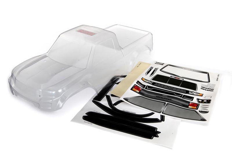 Karo TRX-4 Sport (unlackiert) mit Fenster-Masken + Decal