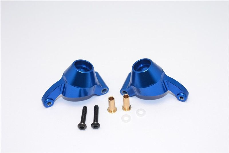 ALLOY REAR KNUCKLE ARM - 1PR blue