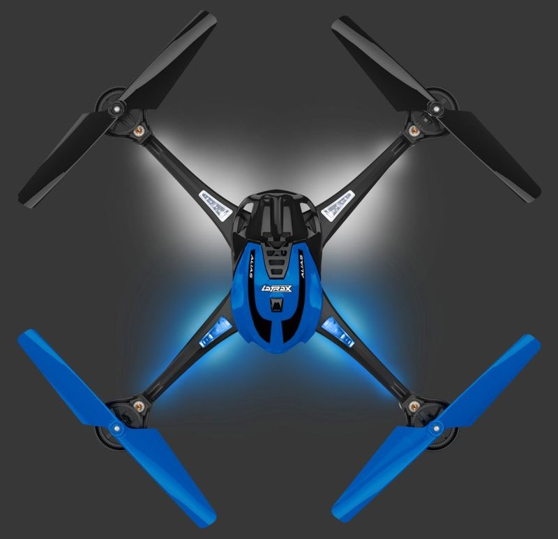 ALIAS blau Quad-Copter High Performance Ready-to-Fly (RTF)