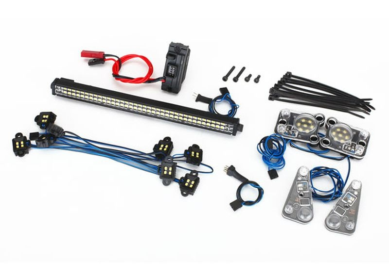 LED LIGHTBAR KIT (RIGID)/POWER SUPPLY, TRX-4