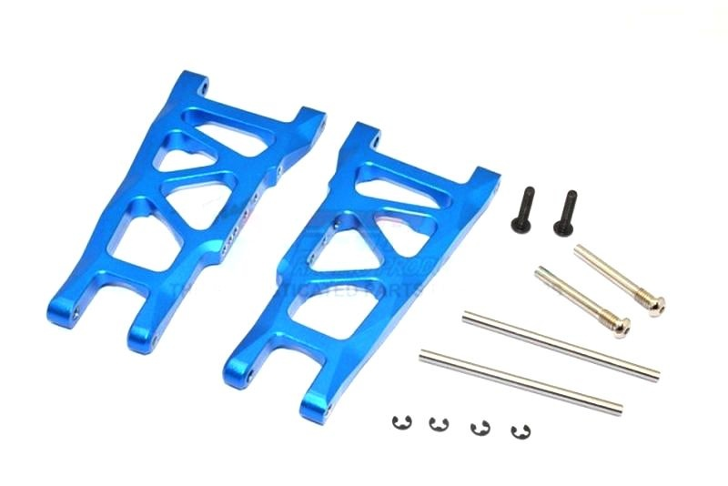ALLOY REAR LOWER ARM - 1PR SET(= SLA055) blue