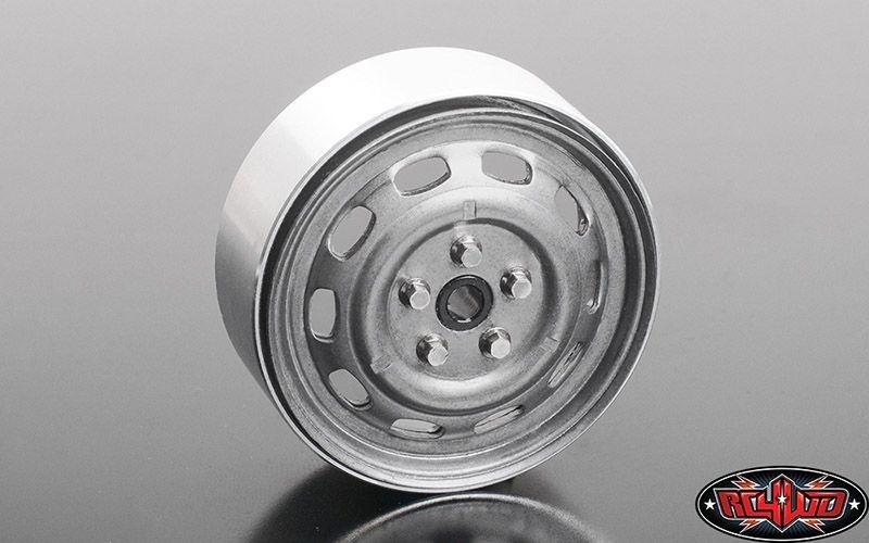 Stamped Steel 1.7 10-Oval Hole Wheels (Plain)