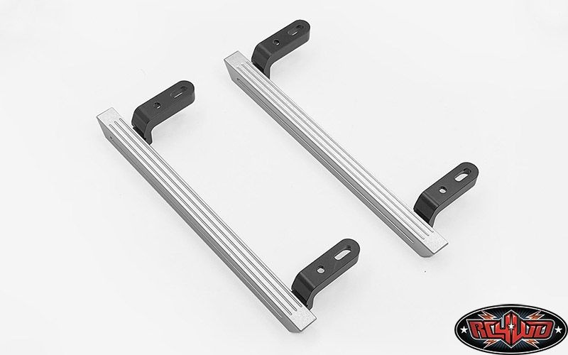 Tonfa Side Sliders for Traxxas Mercedes-Benz G Trucks Silver