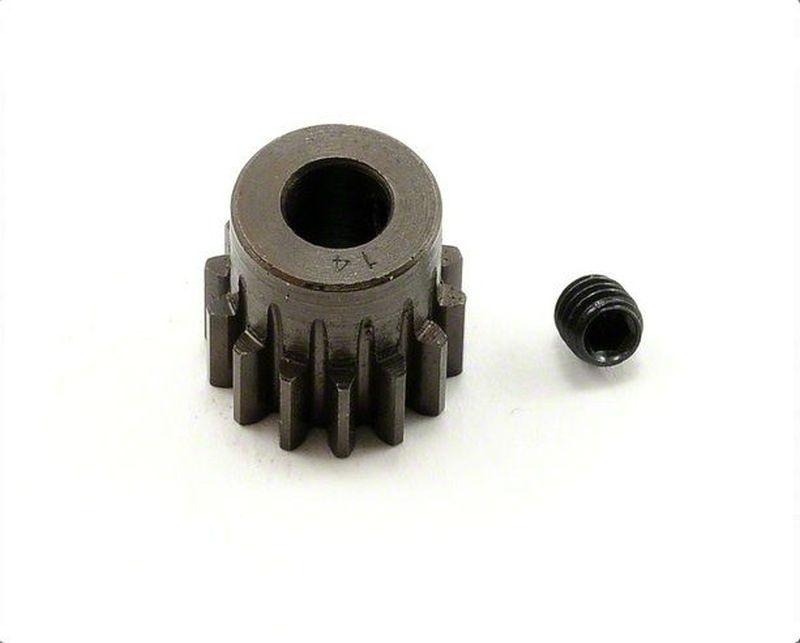 Extra Hart 5mm Bohrung .8 Modul Ritzel 14 Zähne