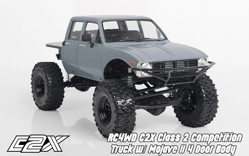 CTR RC4WD C2X Class 2 Competition Truck wMojaveII  4DoorBody