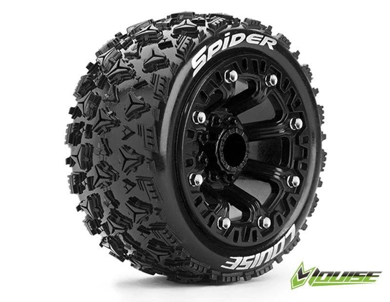ST-SPIDER 2.2 soft Reifen auf Felge schwarz