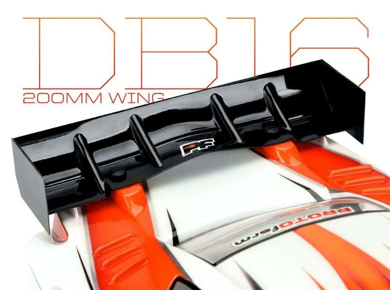 DB16 200mm Flügel-Set