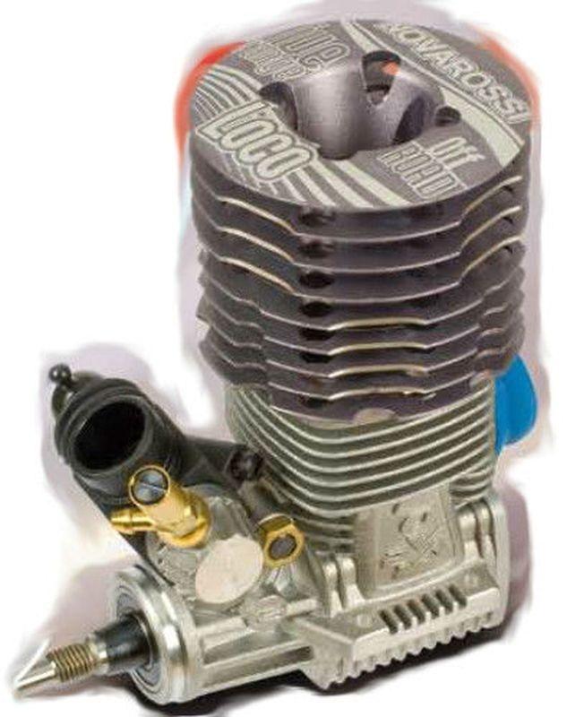 NOVAROSSI LOCO 3.5cc mit Reso-Rohr