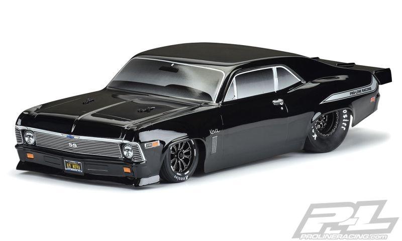 Pro-Line 1969 Chevrolet Nova Karo schwarz