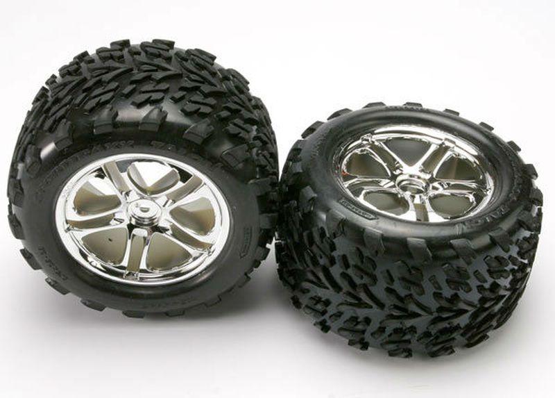 Reifen+Felgen verklebt (14mm Hex)