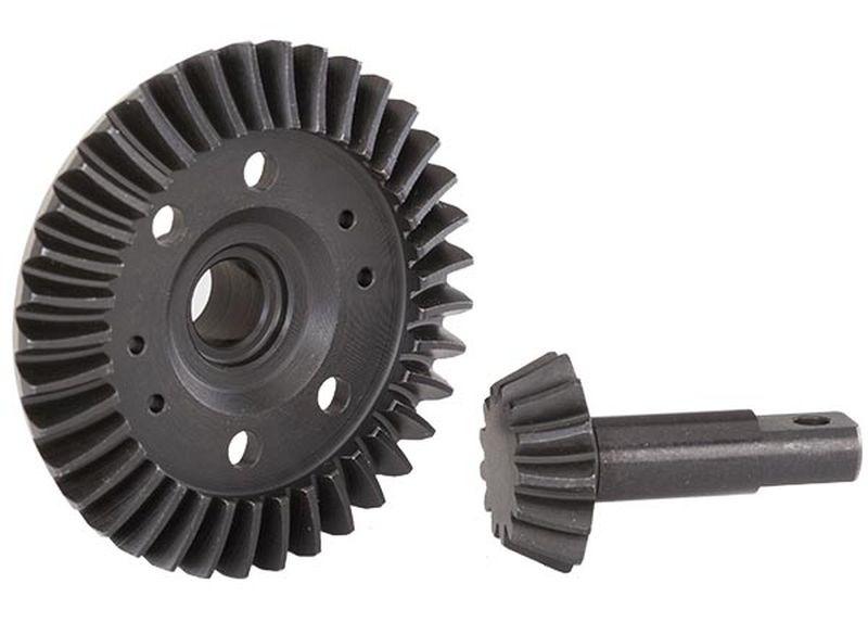 Ring-Gear Diff / Ritzel-Gear Diff (machined, spiral cut) vor
