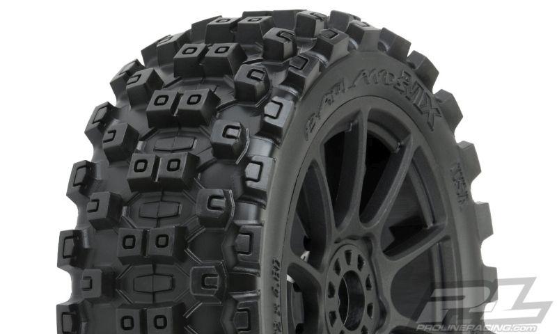 ProLine Badlands MX M2 (medium) auf Felge Mach10 schwarz v/h