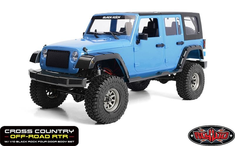 RC4WD Cross Country Off-Road RTR W/ 1/10 Black Rock 4Do
