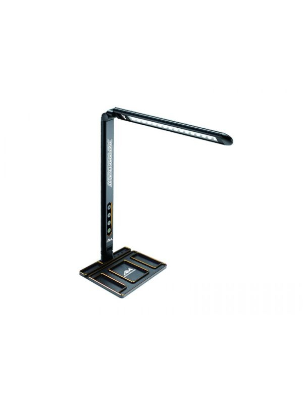 AM Alu Tray with LED Pit Lamp For Set-Up System Black Golden
