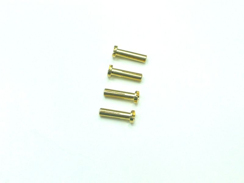 Goldkontaktstecker 4mm (4)