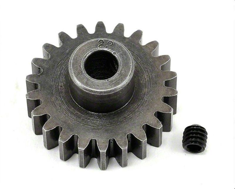 Extra Hart 5mm Bohrung 1.0 Modul Ritzel 22 Zähne