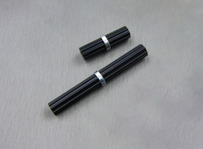 SAMIX SCX10-2 alum black inner drivershaft 1 short / 1 long