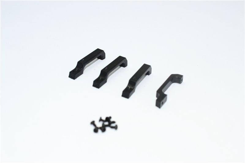 DOOR HANDLE (LARGE) FOR TRX4 -12PC SET black