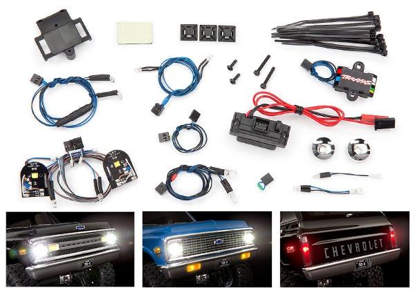 Lichter-Set komplett mit Power Supply für 9111 + 9112 Karo