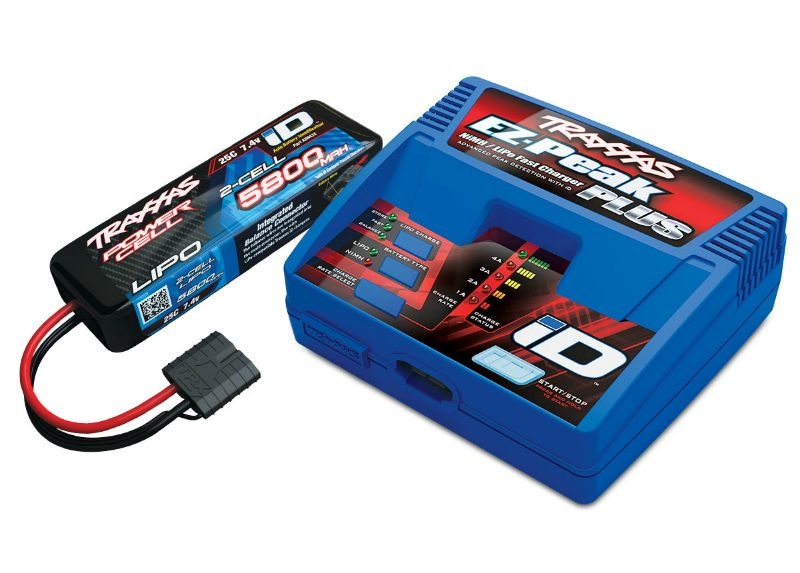 EZ-Peak Plus-Lader 2970G +1x 2S Lipo mAh 2843X (Version 2018