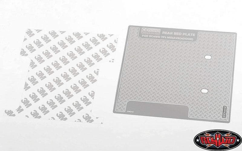 Diamond Plate Rear Bed for RC4WD Trail Finder 2 LWB RTR