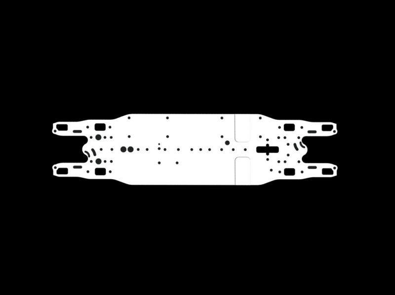 Chassis arrowspace magnesium stiff 4X (SER401801)