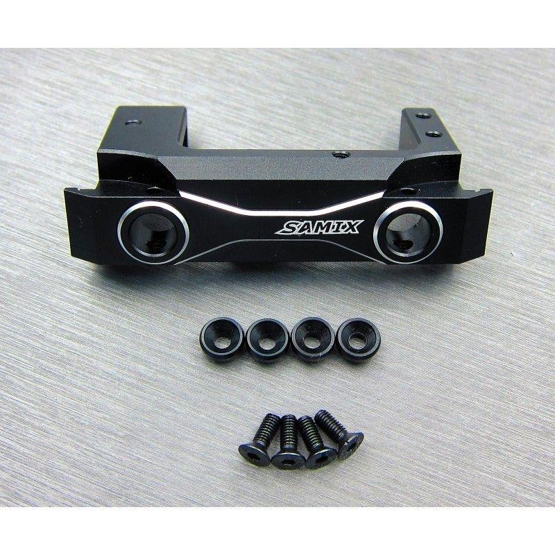 SAMIX SCX10-2 front black short alum. bumper mount