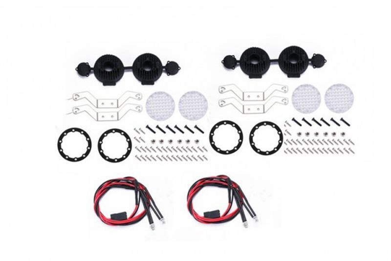 SCALE ACCESSORIES: RC CAR ROOF SPOTLIGHT CRAWLERS106PC  SET
