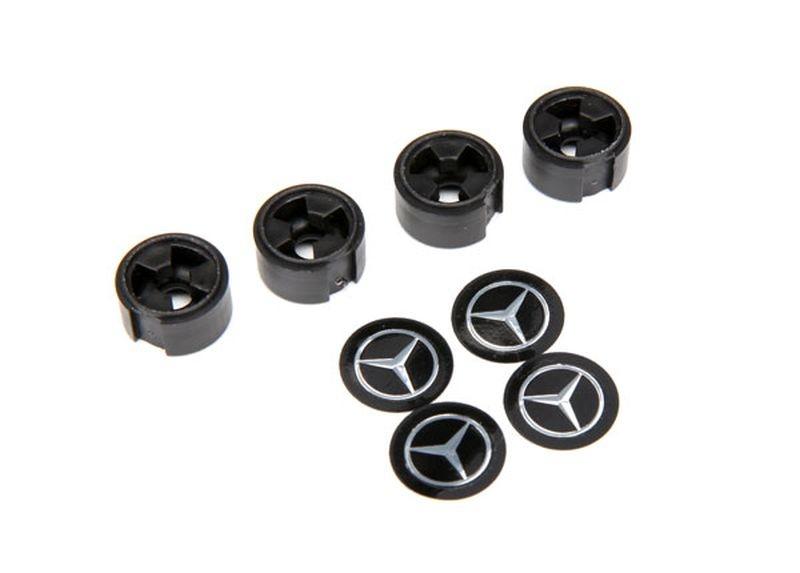 Mercedes-Benz G500 Zentral-Radkappe schwarz (4)