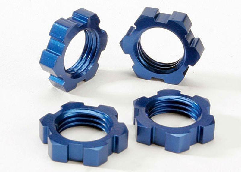 17mm Muttern blau (4)