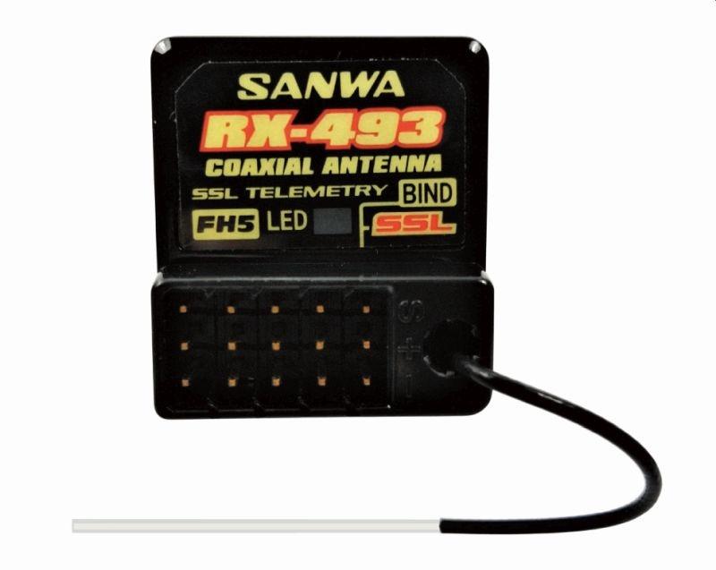 RX-493  SUR-SSL  Empfänger HD-Version mit Antennenrohr
