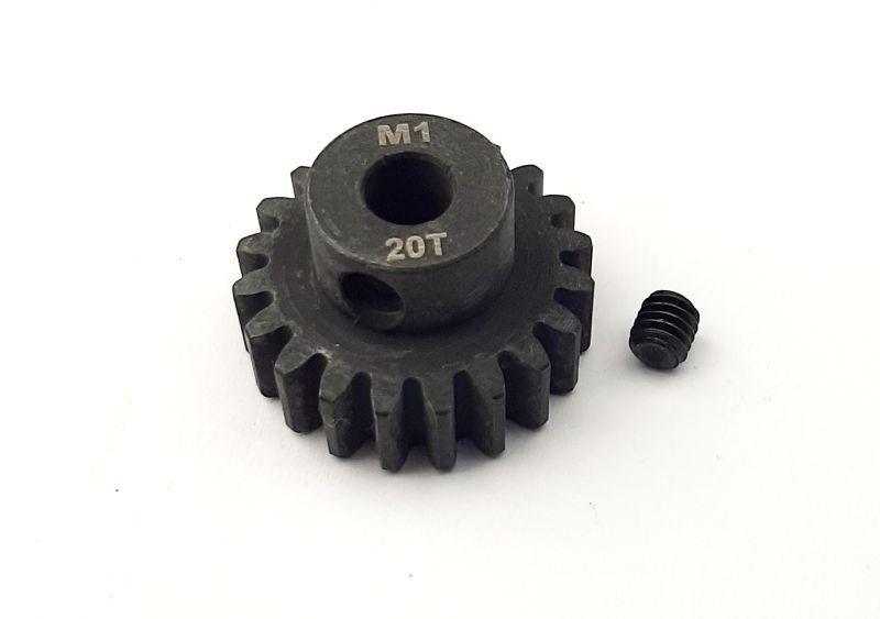 Ritzel 20 Zähne Modul 1, 5mm Stahl