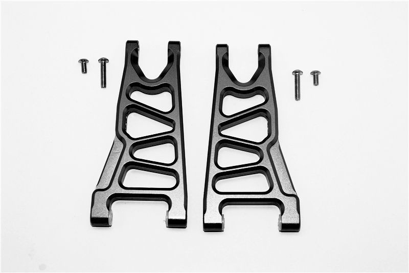 ALUMINUM FRONT LOWER ARMS -6PC SET black