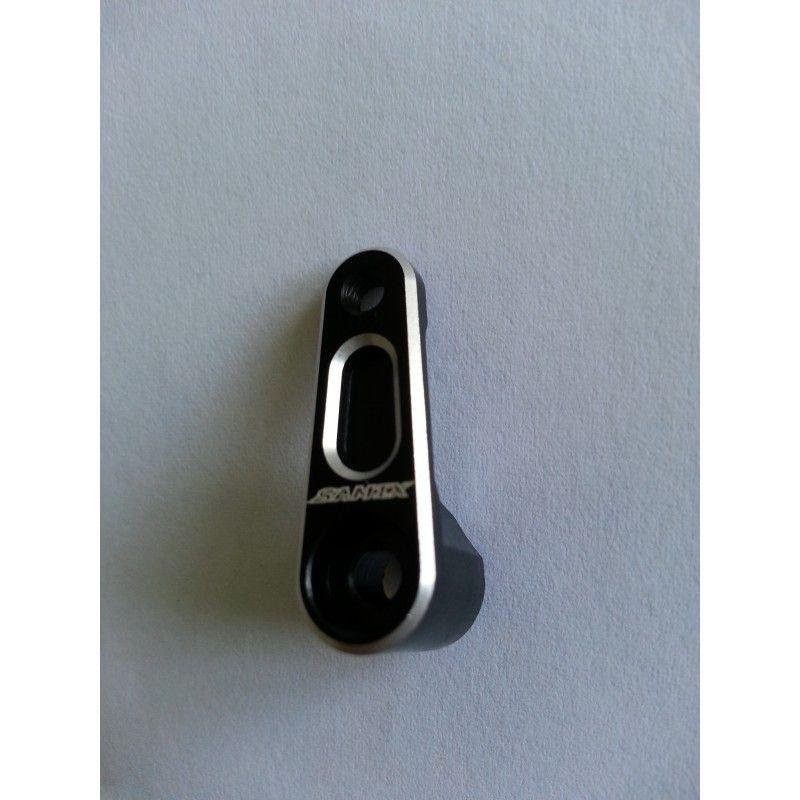 SAMIX 23T aluminium black servo horn for EP car (sanwa,ko)
