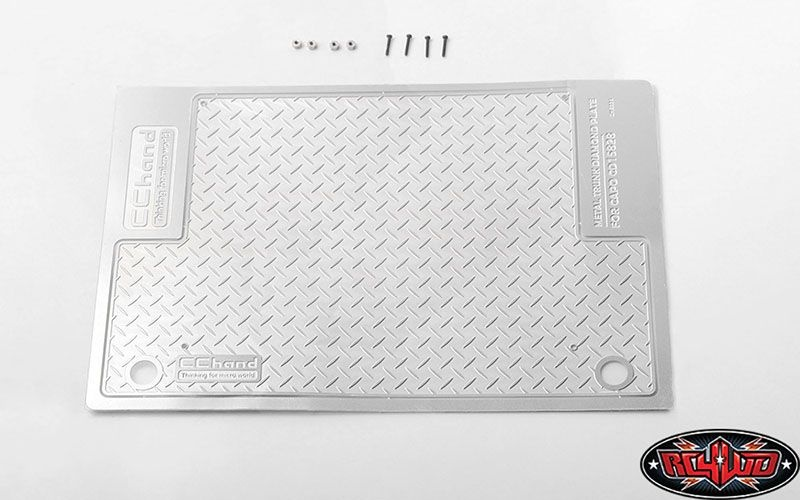Diamond Plate Rear Cargo for Capo Racing Samurai 1/6 RC Scal