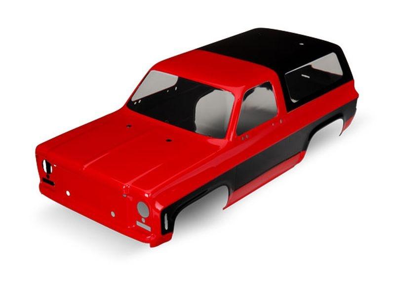 Karo Chevrolet Blazer (1979) rot (ohne Anbauteile)