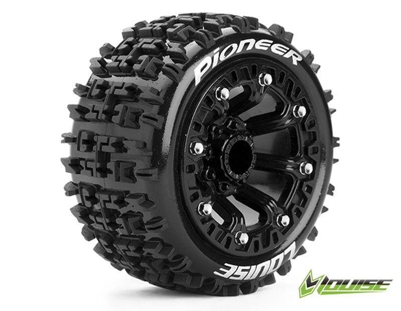 ST-PIONEER 2.2 soft Reifen auf Felge schwarz