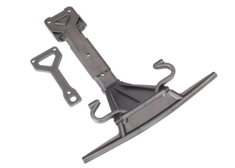 Skid-Platte vorn (Plastik), Support-Platte (Stahl)