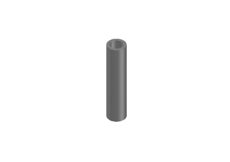 JR128-R01 Aluminium Damper Pipe RTR Blank-